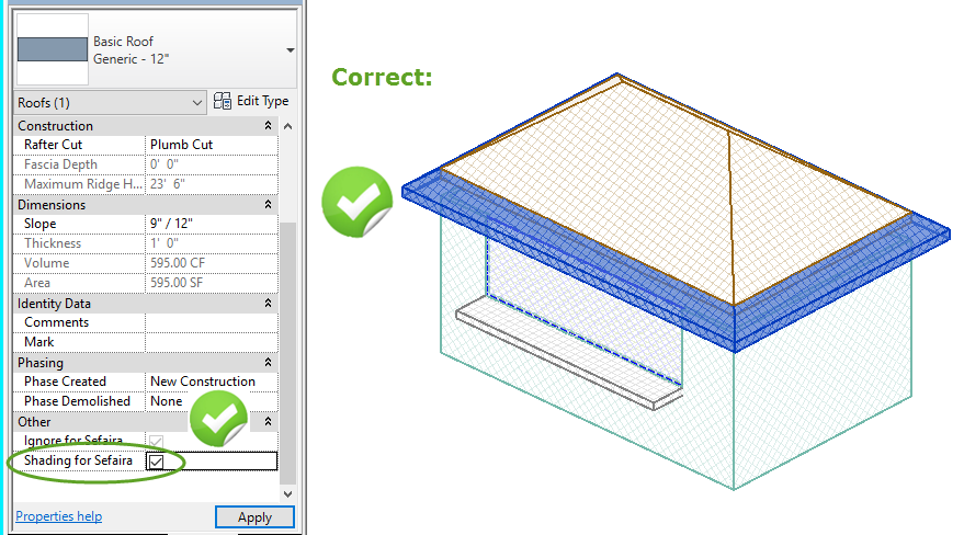 Revit How To Model Balconies Roof Overhangs And Outside